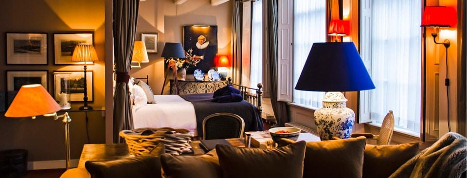Hotel Seven One Seven отель 5 звезд в Амстердаме