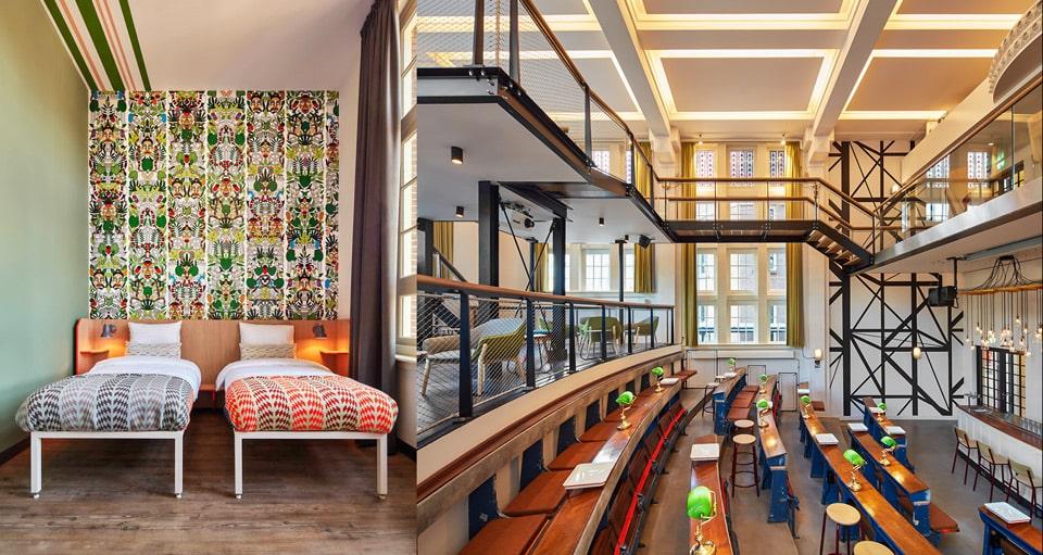 Generator Amsterdam – дизайнерский хостел в Амстердаме