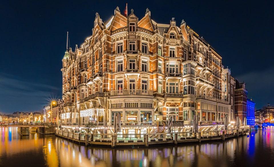 De L'Europe Amsterdam самый дорогой отель Амстердама 5 звезд