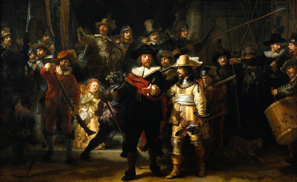 Картина «Ночной дозор» Рембрандта
