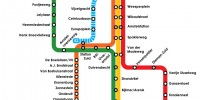 Метро в Амстердаме схема и карта