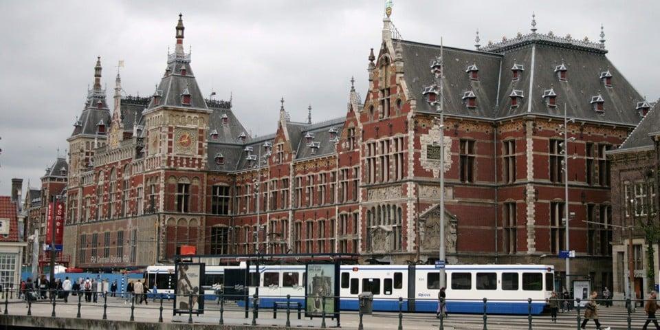 Главный железнодорожный вокзал Амстердама