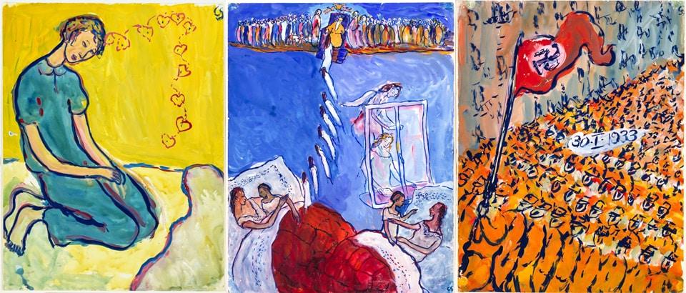 Картины еврейской художницы Шарлоты Соломон