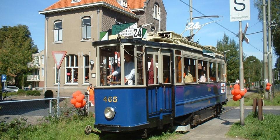 Музей трамвая в Амстердаме
