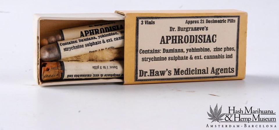 Aphrodisiaques à base de cannabis