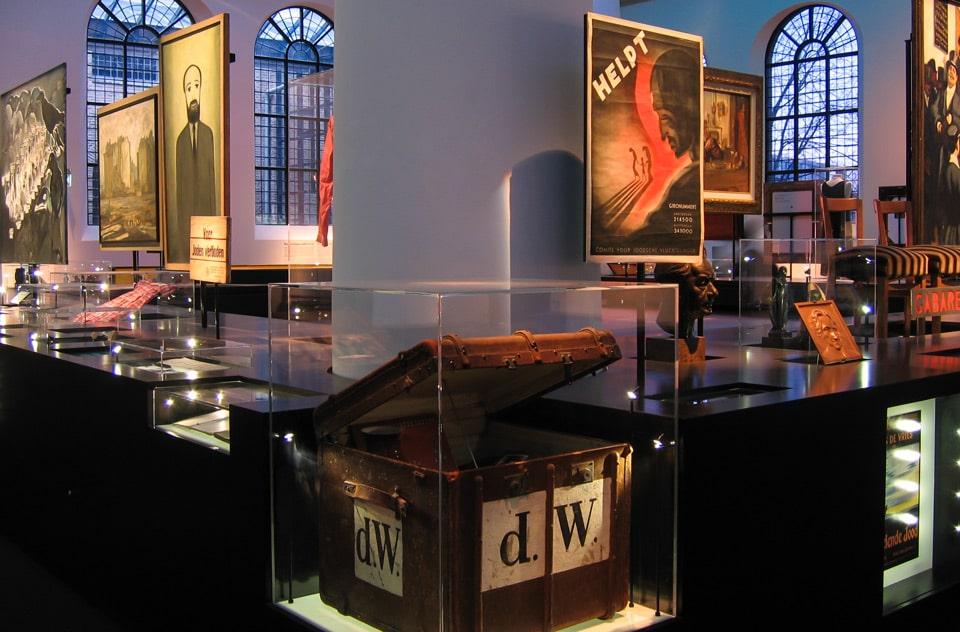 Экспозиция выставка в Еврейском историческом музее Амстердама