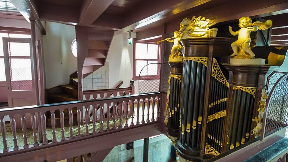 Орган в музее Амстелкринг