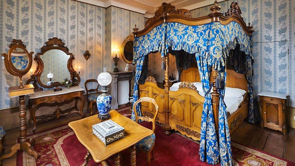 типичная спальня в особняке амстердамской аристократии 19 века