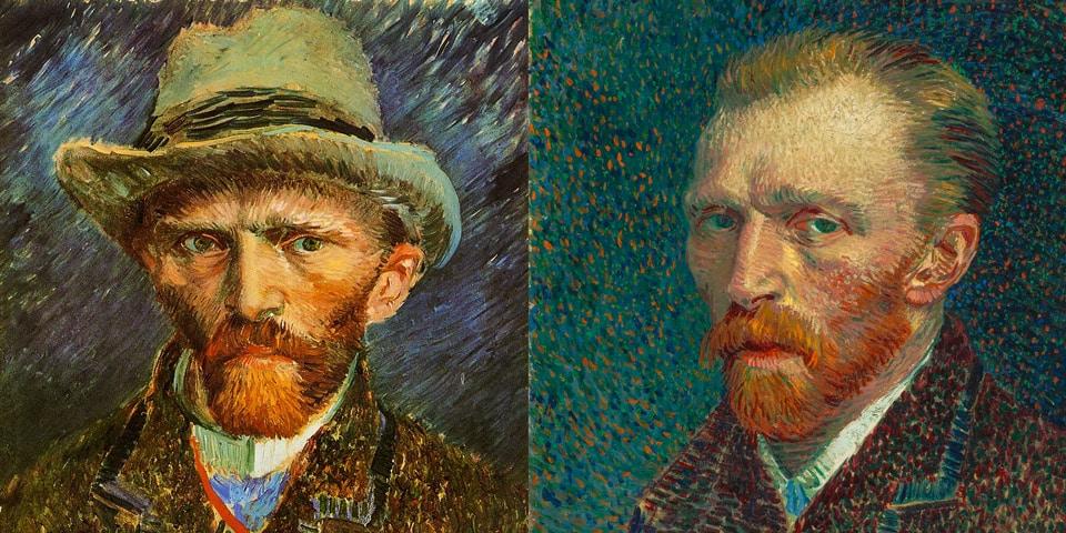 Автопортреты Ван Гога в музее в Амстердаме