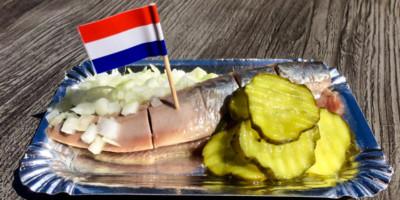 Где поесть селедку в Амстердаме