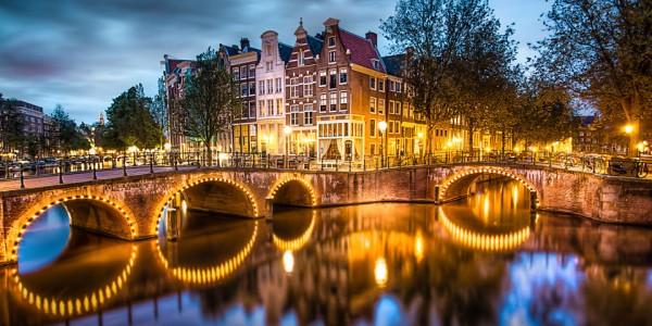 Большие каналы Амстердама