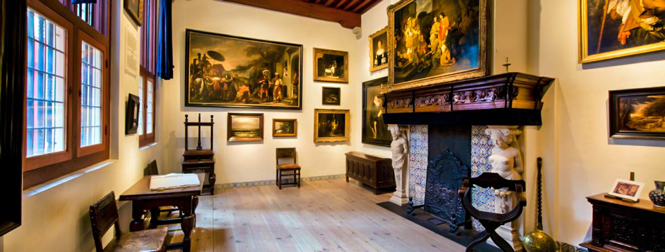 уникальная экспозиция дома-музея Рембрандта в Амстердаме