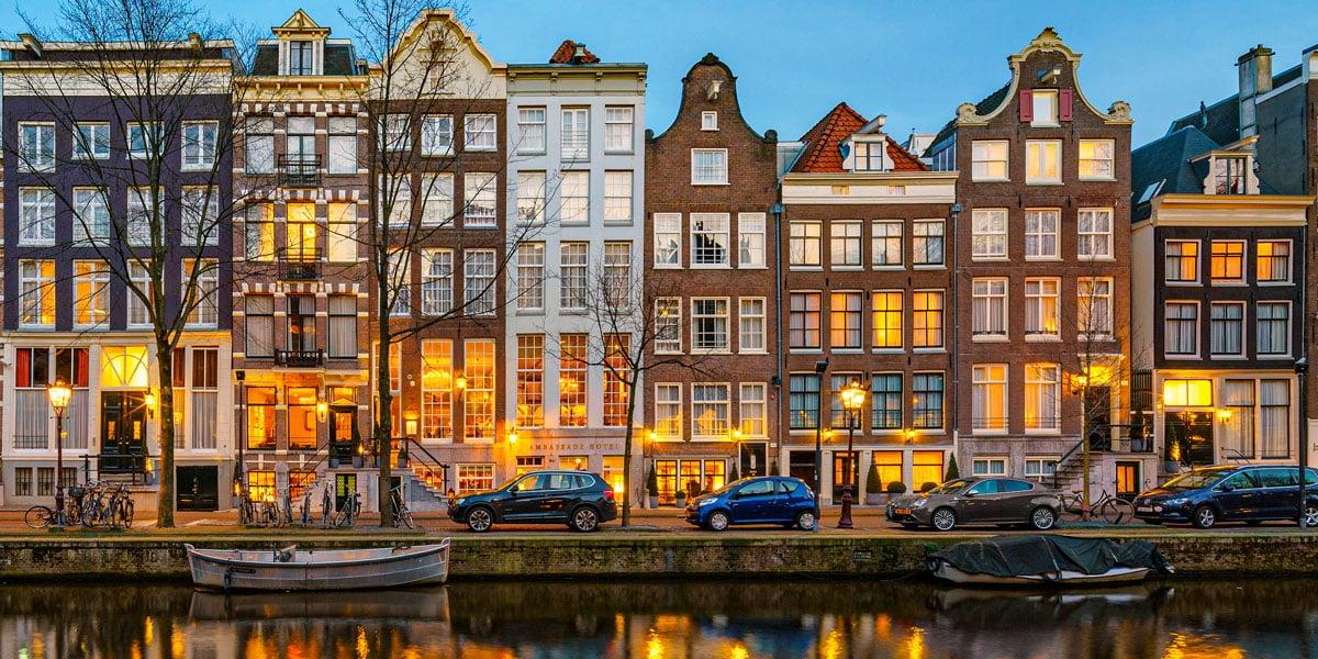 Meilleurs hôtels 4 étoiles à Amsterdam
