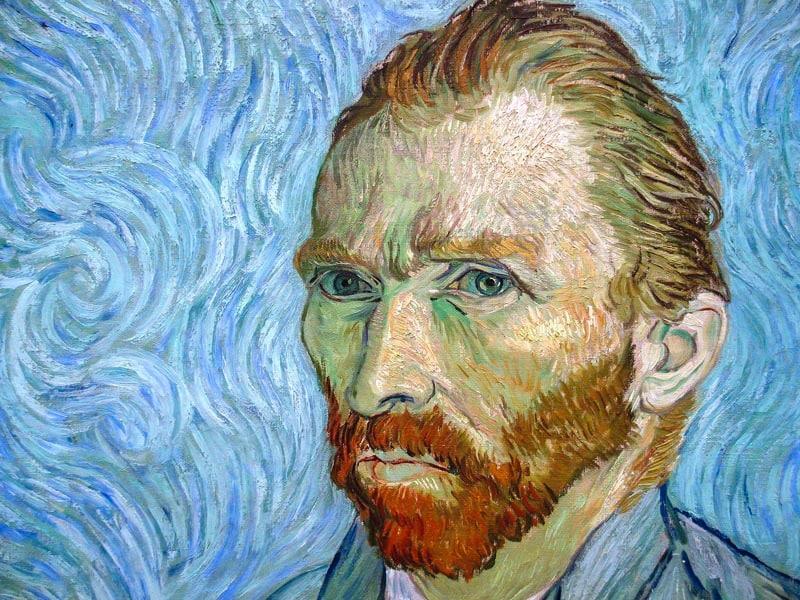 van-Gogh-avto Portret-1889-1890